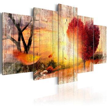 Tavla - Canvastavla - Autumnal Love