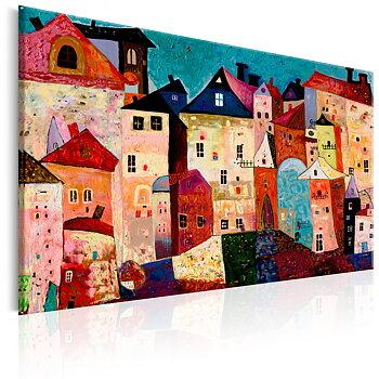 Tavla - Canvastavla - Artistic City