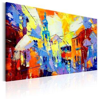 Tavla - Canvastavla - Colours of the City