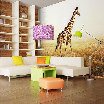 Fototapet - giraff - gå