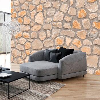 Fototapet – Modern stenvägg