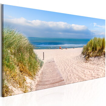 Tavla - Canvastavla  – Drömmen om en sandstrand
