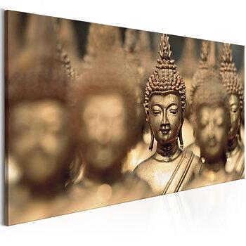 Tavla - Canvastavla – Buddha i centrum