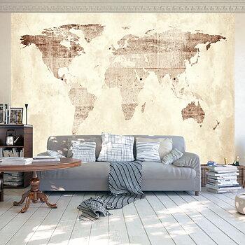 Fototapet - Precious map