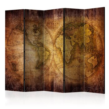 Rumsavdelare - World on old map II