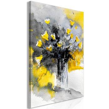 Tavla - Canvastavla – Bukett med gula blommor