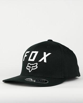 "Fox ""Legacy Moth 110"" svart snapback keps"