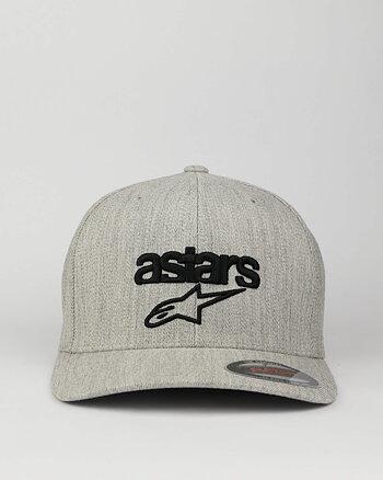 "Alpinestars ""Heritage blaze"" grey flexfit keps"