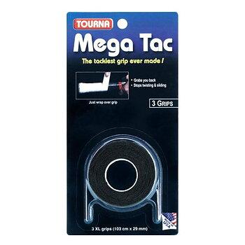 Tourna Mega Tac Svart 3-pack