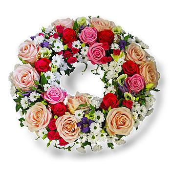 Begravningskrans - Glädje