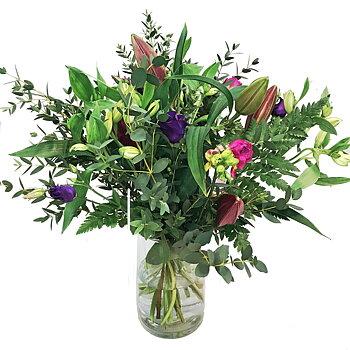Blomsterbud på Ekerö