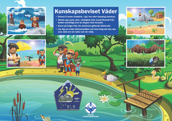 Affisch kunskapsbevis Väder