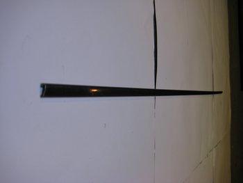 Kromlist Framskärm höger Ford Anglia Deluxe