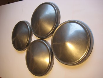 Wheel covers 4pcs Ford Anglia Cortina Escort