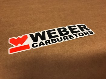 WEBER CARBURETORS sticker