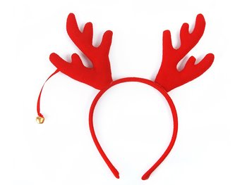Headband Reindeer, Red