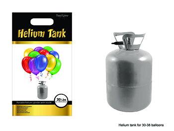 Helium til ballonger (inkluderer ballonger og snøre)