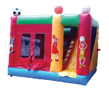 BOUNCY CASTLE SPORT 5X5 M
