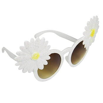 Glasses white Flower