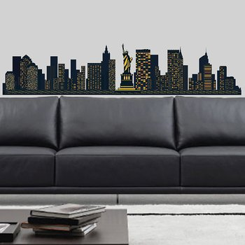 New York Skyline, wallstickers