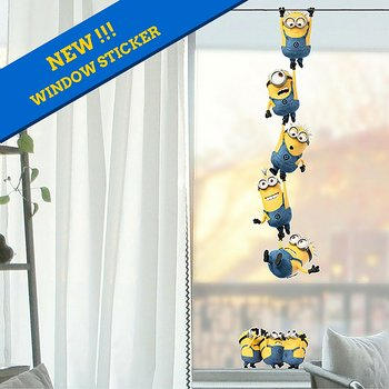 Minions Chain (window sticker)
