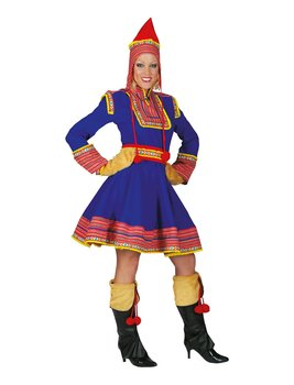 Lapland dress, Women