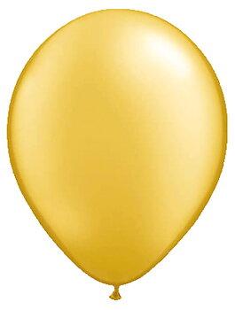Balloons Gold Premium Metallic