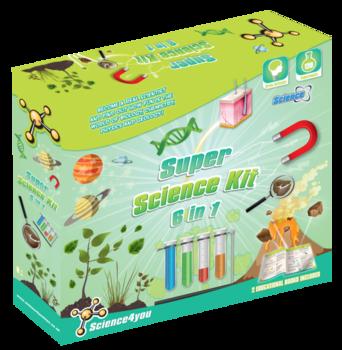 Super Science 6-1 – Vetenskapsset - (Kemiset, biologi, fysik mm)