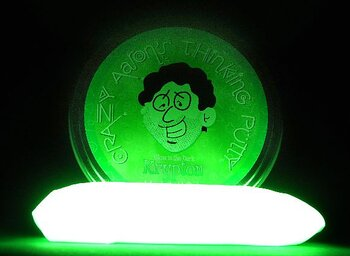 Thinking Putty Glow in the dark (grön)