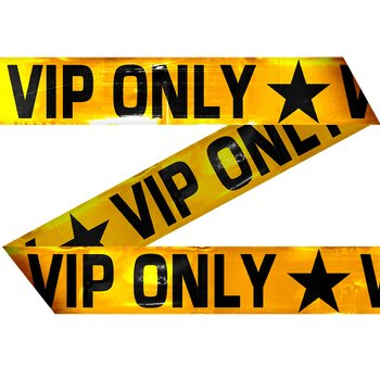 Markeringstejp VIP ONLY,  15 m