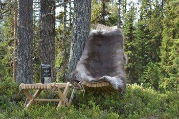 Eco Furn Vilstol naturlig lärk * Underhållsfri*