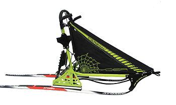 Rotter Spyder Carbon Grön (Beställningsvara) Sprintsläde