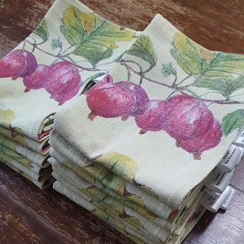 Kitchen towel Red Gooseberry