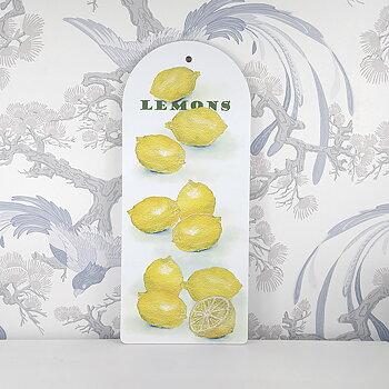Skärbräda  Lemons 40x17 cm