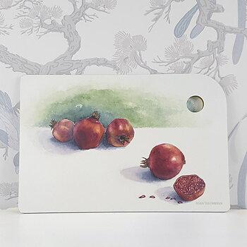 Skärbräda Pomegranate