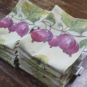 Kitchen towel Red Gooseberry 38x65 cm