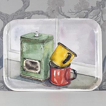 Frukostbricka Kaffeburk Retro