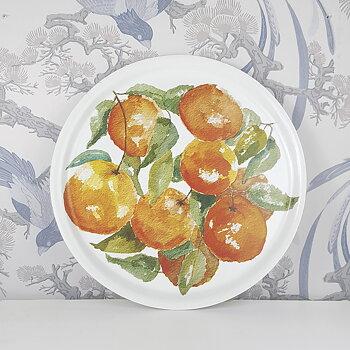 "Tray round 12,4"" Oranges"