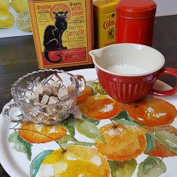 Bricka rund 31 cm Oranges