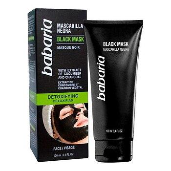Svart ansiktsmask Detoxifyng Babaria, Kapacitet: 100 ml
