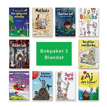 Bokpaket nr 3 (10 böcker)