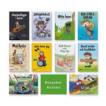 Bokpaketet rullstol (10 böcker)