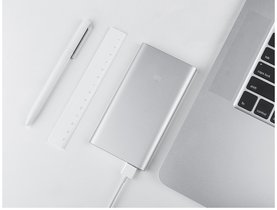 Xiaomi Mi Power Bank 2, 5000 mAh Silver