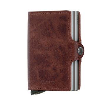 Secrid Twinwallet Vintage Brown Skinnplånbok
