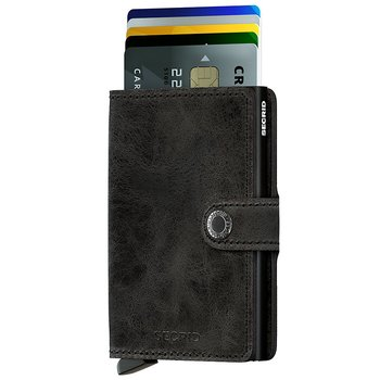 Secrid Miniwallet Vintage Black Skinnplånbok