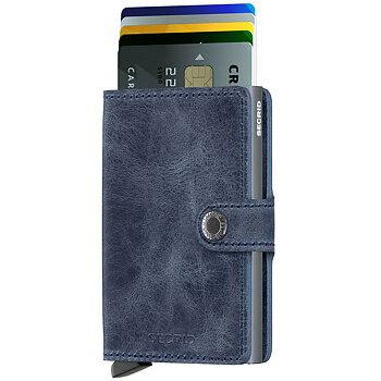 Secrid Miniwallet Vintage Blue Skinnplånbok