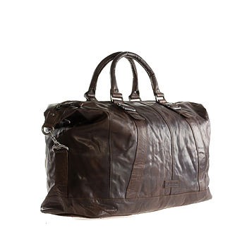 Spikes & Sparrow Cowboy Läder Bag Brown