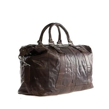 Spikes & Sparrow Cowboy Läder Bag Brown