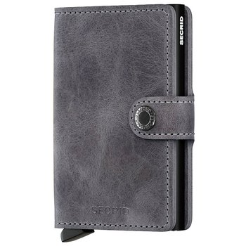 Secrid Miniwallet Vintage Grey Black Skinnplånbok