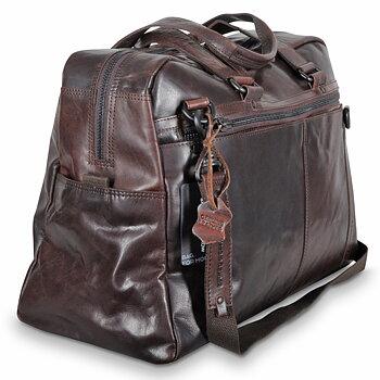 Spikes & Sparrow Weekendbag Brun i Läder